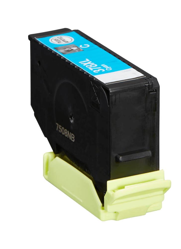 Image of   Epson 378XL cyan blækpatron 13,2ml kompatibel C13T37924010