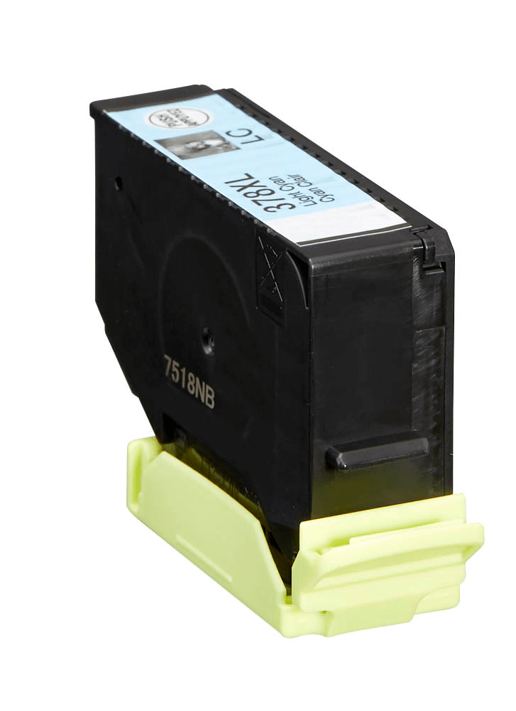 Image of   Epson 378XL lys cyan blækpatron 13,2ml kompatibel C13T37954010