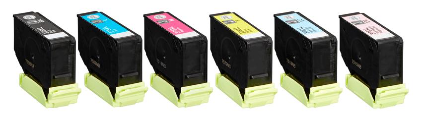 Image of   Epson 378 XL combo pak 6 stk blækpatroner 80 ml kompatibel C13T37984010