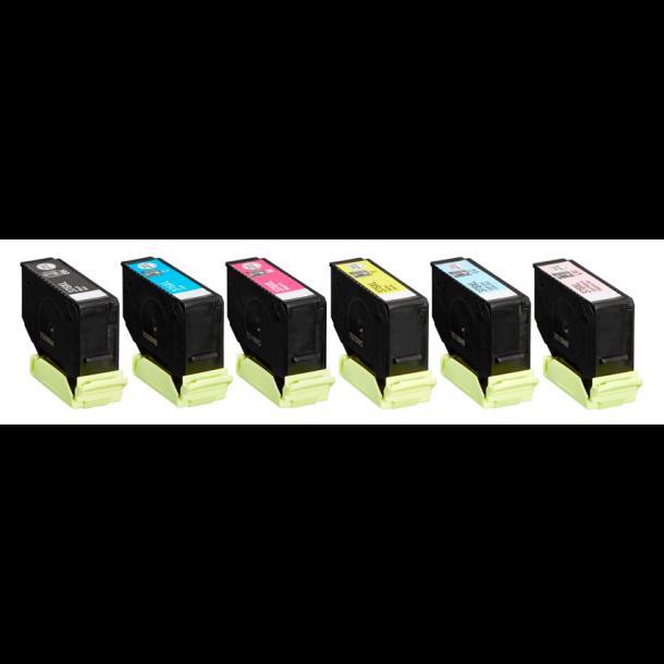 Epson 378 XL combo pak 6 stk blækpatroner 80 ml C13T37984010