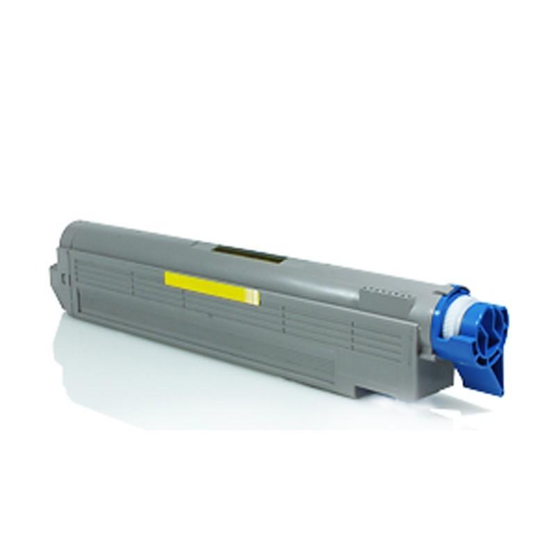OKI C5650/C5750Y Lasertoner - Kompatibel - Gul 2000 sider