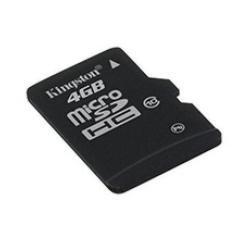 Image of   Micro SD HC 4GB klasse 4