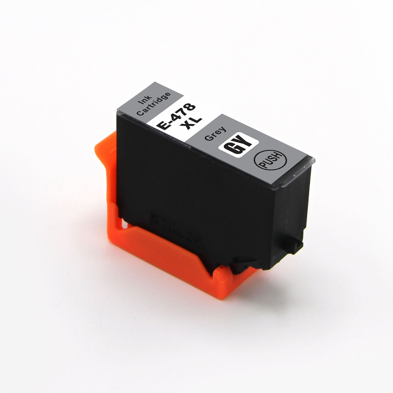 Image of   Epson 478XL grå blækpatron 11,2ml kompatibel C13T04F64010