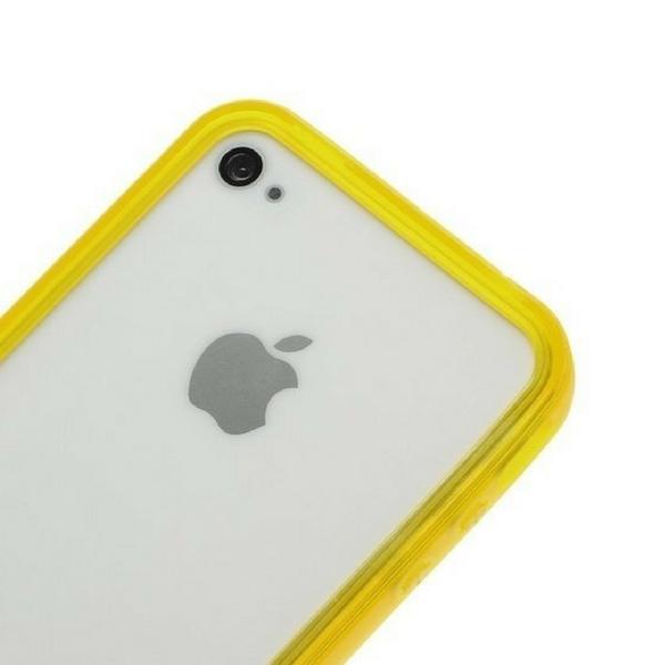 Image of   Bumper til iPhone 4 / 4S Rød