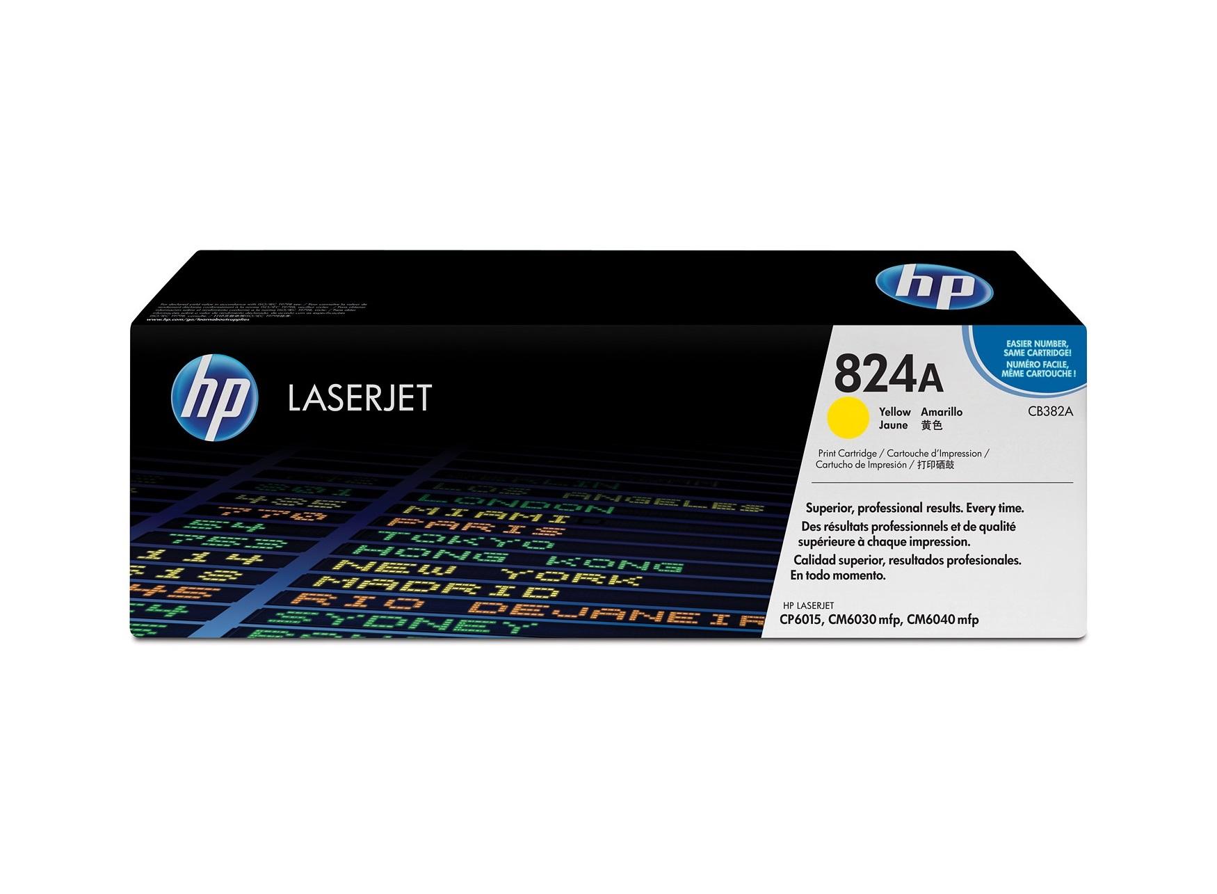 HP 824A Y Original Toner (21000 sidor)