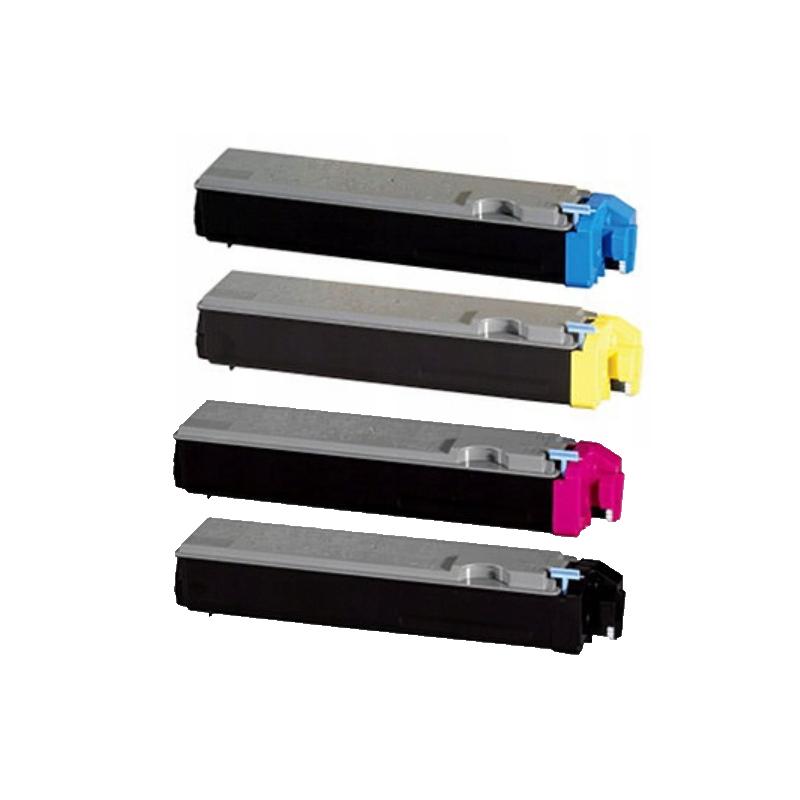 Kompatibel Kyocera TK520 combo pack 4 stk lasertoner (18000 sidor)