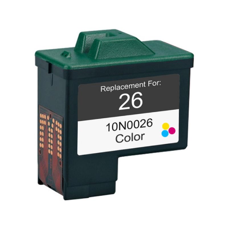 Lexmark 26 - 10N0026 Kompatibel - 3-Farve 10 ml