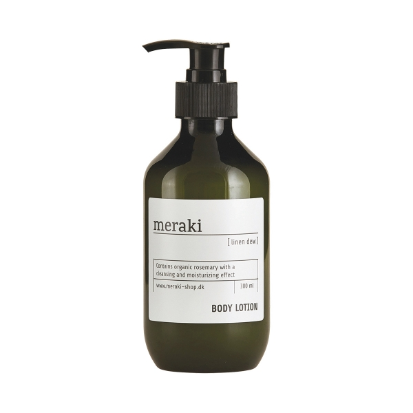 Meraki Bodylotion, Linen dew, 300 ml.