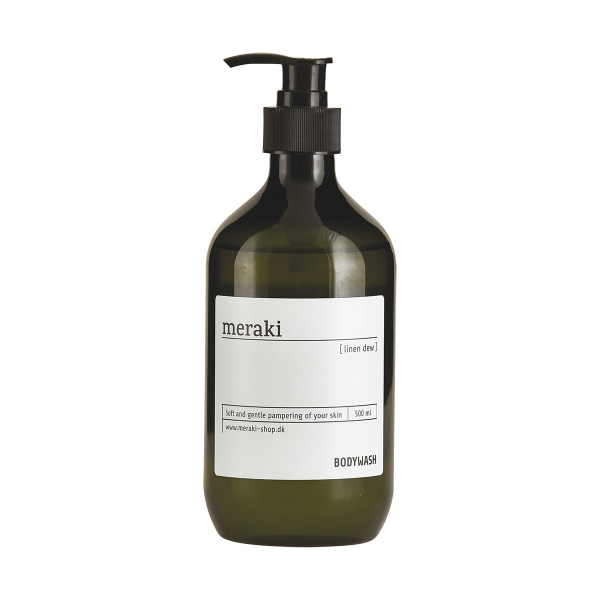 Image of   Meraki Body wash, Linen dew, 500 ml