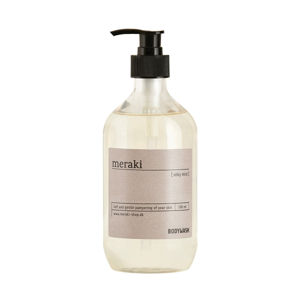 Image of   Meraki Body wash, Silky mist, 500 ml.