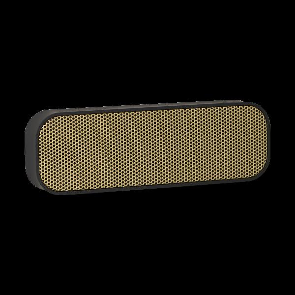 Kreafunk aGROOVE, m. guld front, Bluetooth 3.0. flera färger Svart med golden front