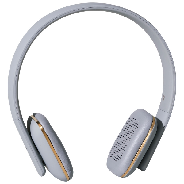 Image of   Kreafunk aHEAD, BT headset, bluetooth 4.0. høretelefoner m. håndfri talefunktion Sort med gunmetal front