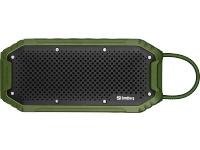 Image of   Sandberg vandtæt bluetooth højttaler 20W + Powerbank 5200 mAh. - Army grøn
