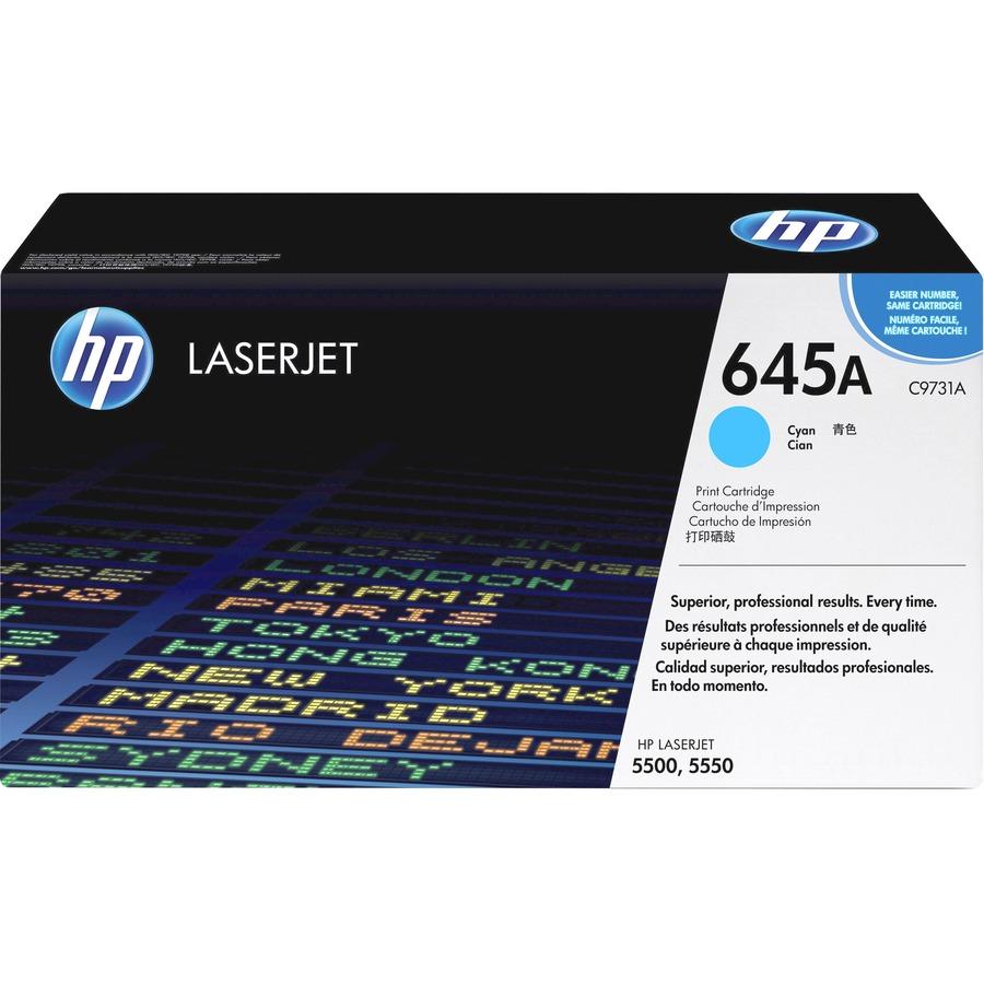 HP 645 lasertoner original (12000 sidor)