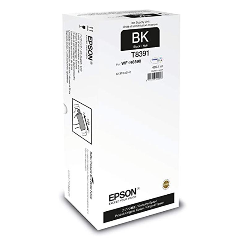 Epson T8391 XL BK Original bläckpatron (402,1 ml)