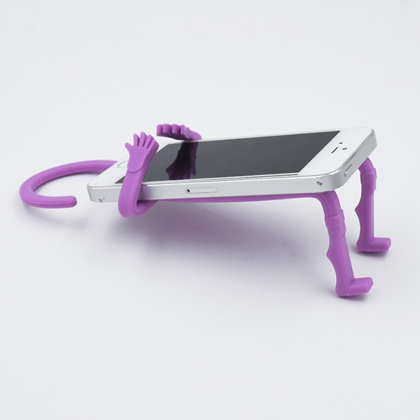 Image of   Flexible Cellphone Holder Pink