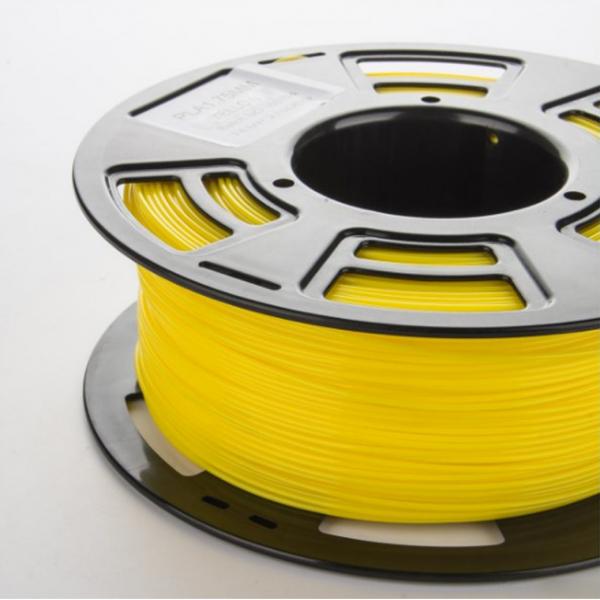 Image of   PLA filament til 3D printer, 1 kg, 1,75 mm. Gul