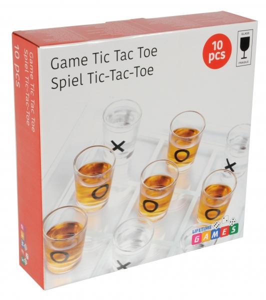 Image of   3 på stribe drikkespil, 10 dele