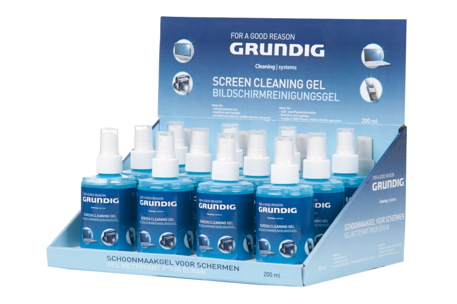 Image of   Grundig Gel til Skærmrens 200ml
