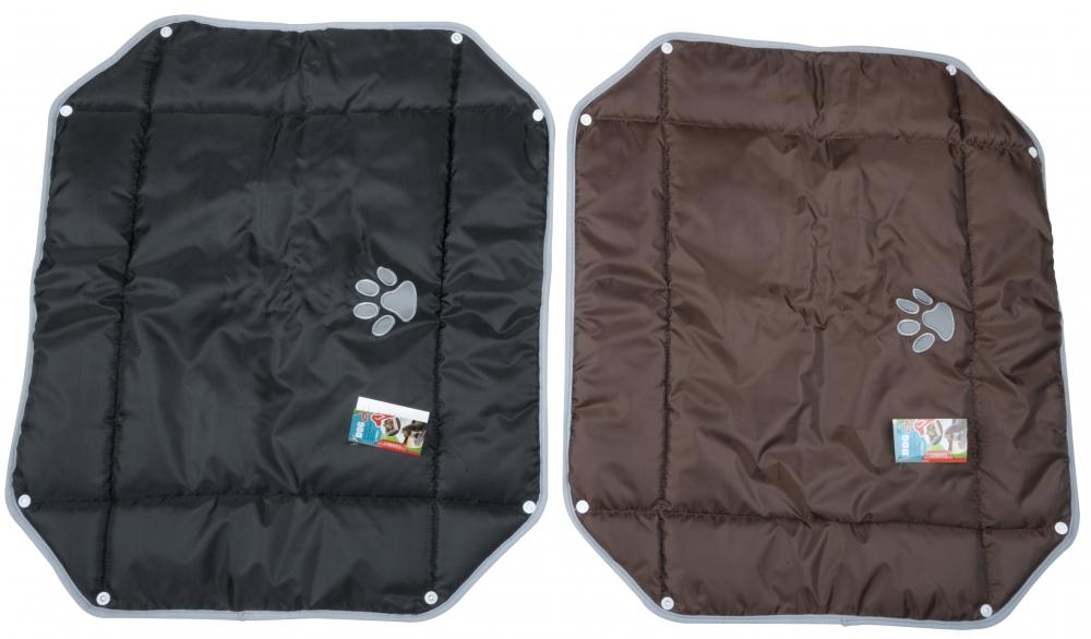 Image of   2-i-1 hundetæppe, 70x60 cm Brun