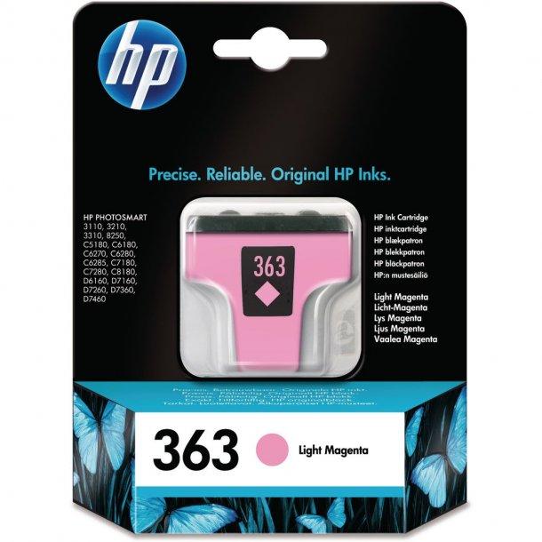HP 363 LM (C8775EE) light magenta blækpatron,, 6 ml