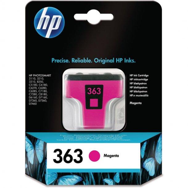 HP 363 M (C8772EE) magenta blækpatron,, 6 ml