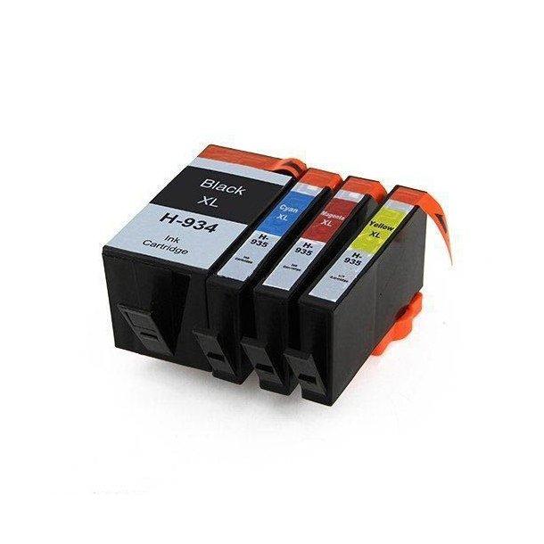 HP 934 XL/ HP 935 XL combo pak 4 stk BK/C/M/Y 98 ml