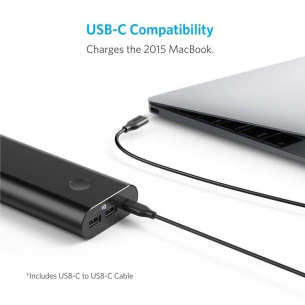 Anker PowerCore+, USB-C power bank, 20100 mAh Power IQ