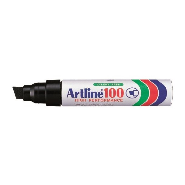Artline Marker 100 12,0 svart, 6 st