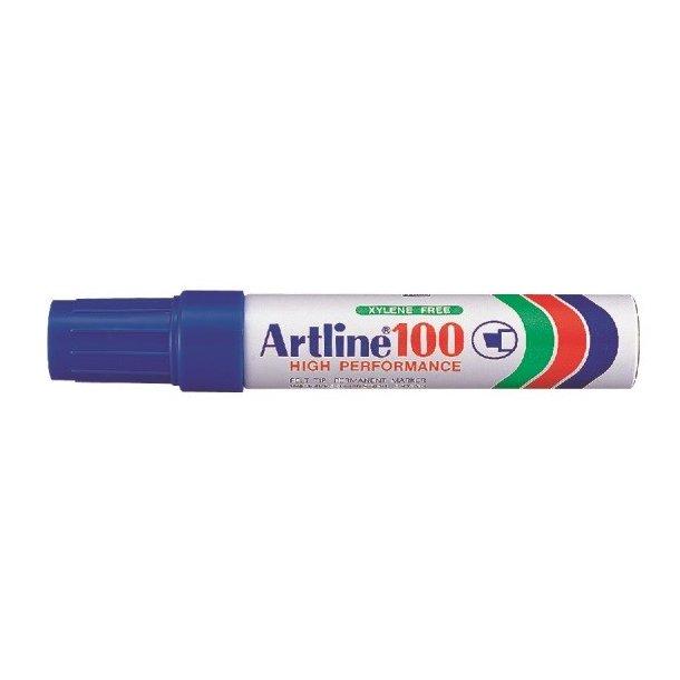 Artline Marker 100 12,0 blå, 6 st