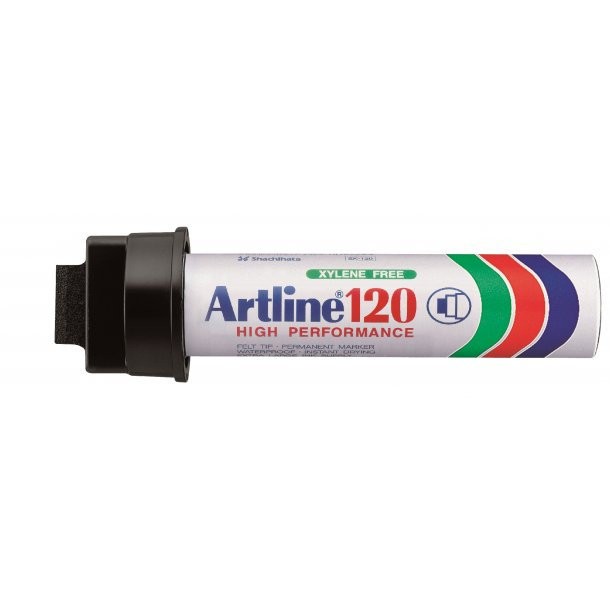 Artline Marker 120 20.0 svart, 6 st