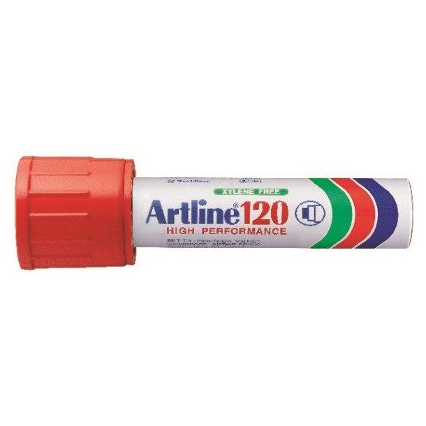 Artline Marker 120 20.0 röd, 6 st