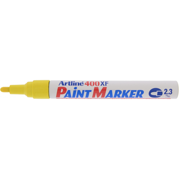 Artline Marker 400XF Paint gul, 12 st