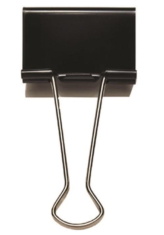 Image of   Büngers Foldbackklemme med metalbøjle 19 mm - 12 stk