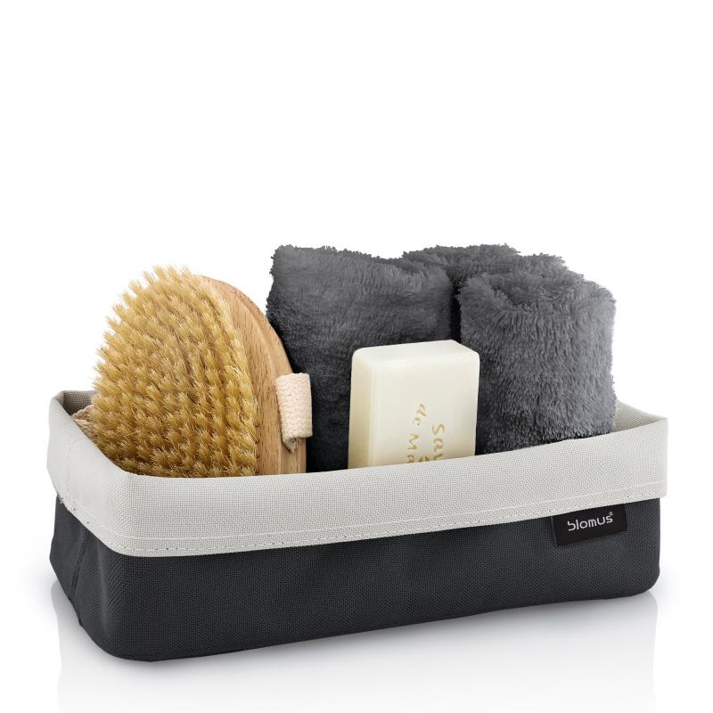 f rvaringskorg blomus ara large gr blomus pure life brandavenue. Black Bedroom Furniture Sets. Home Design Ideas