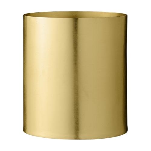 Image of   Bloomingville Vase, Guld, Metal Ø13xH14 cm