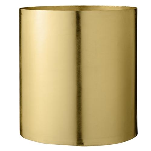 Image of   Bloomingville Vase, Guld, Metal Ø22xH23 cm
