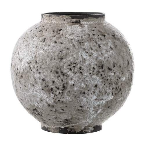 Image of   Bloomingville Vase, Natur, Stentøj Ø18xH17,5 cm