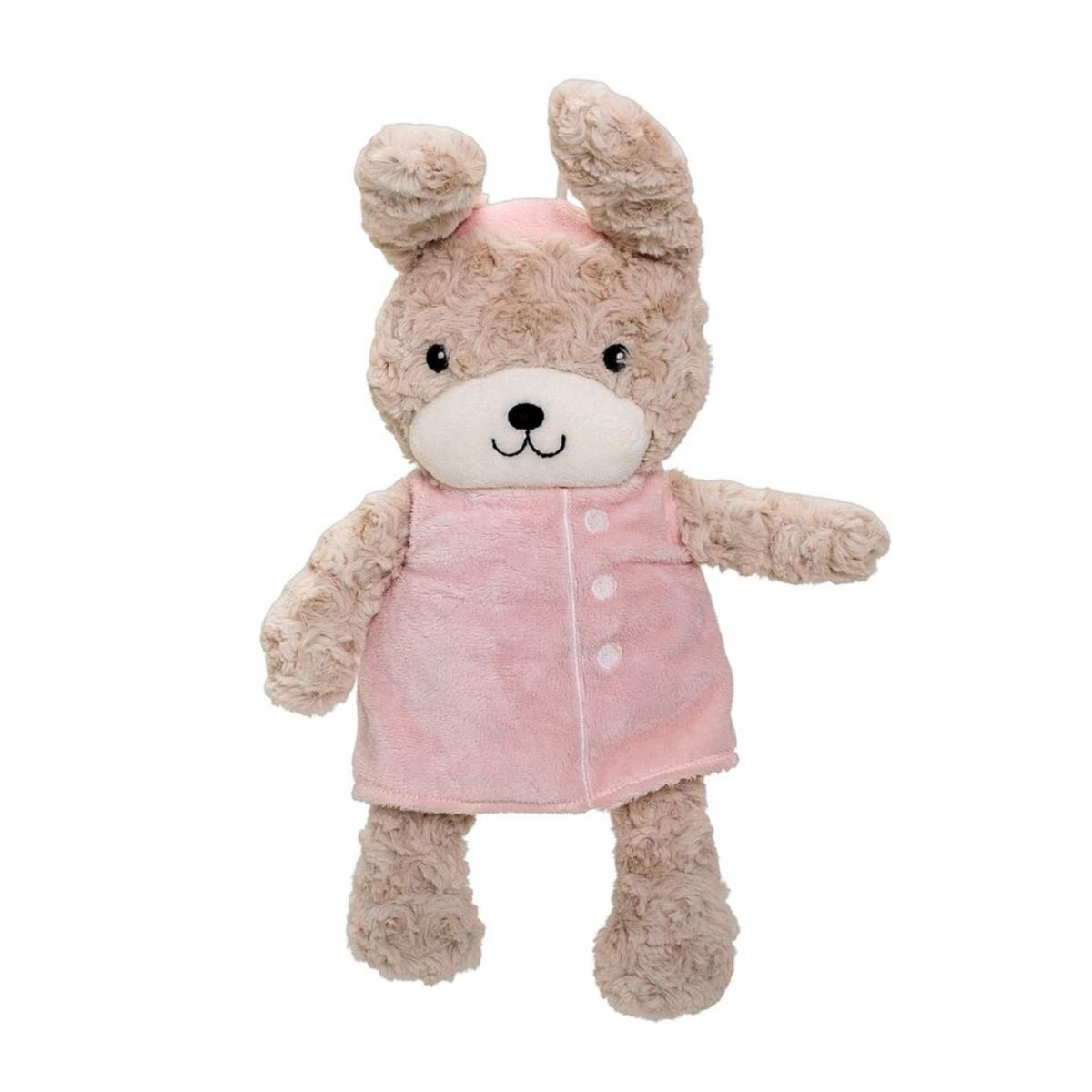 Image of   Bloomingville Mini Tøjdyr Plush Bunny, Rosa, Polyester