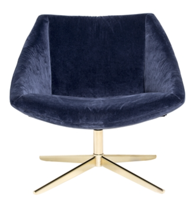 Image of   Bloomingville The elegant chair (Blue)
