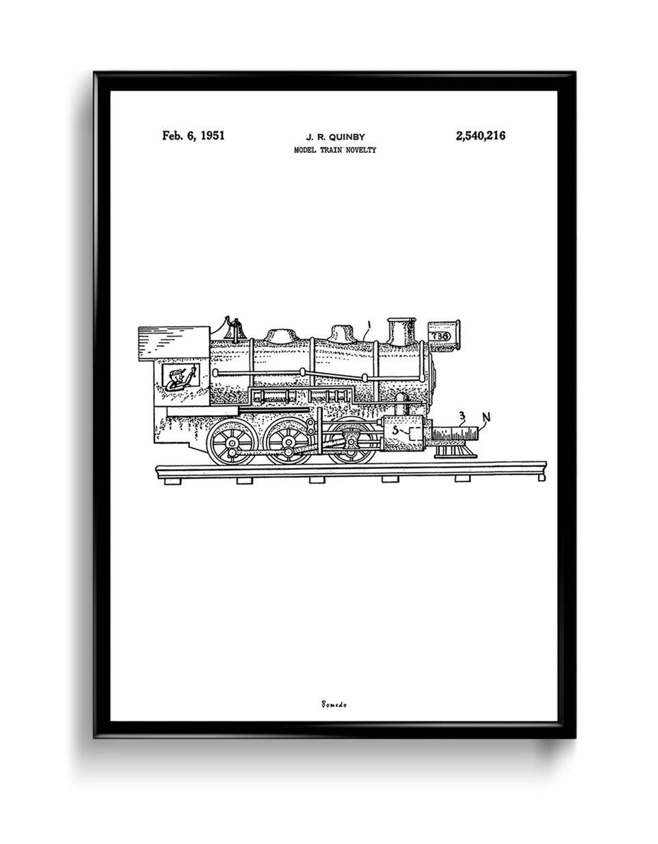 Plakat Bomedo Modeltog (A2)