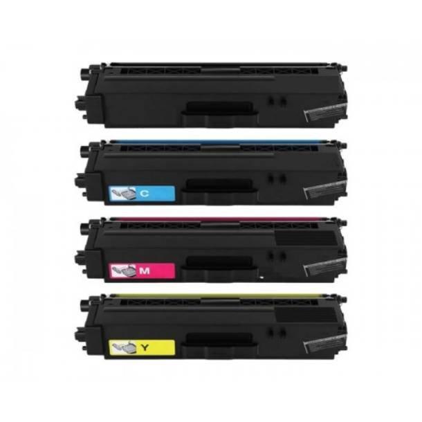 Brother TN 351 combo pack 4 stk lasertoner BK/C/M/Y 7000 sider