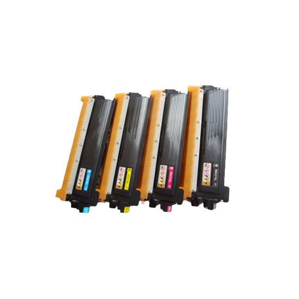 Brother TN270 combo pack 4 stk lasertoner BK/C/M/Y 6400 sider