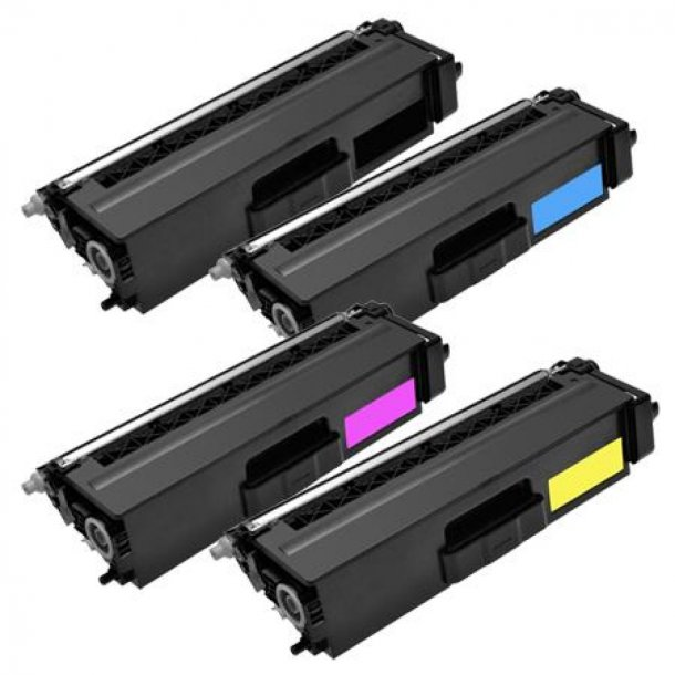 Brother TN326 combo pack 4 stk lasertoner BK/C/M/Y 14500 sider