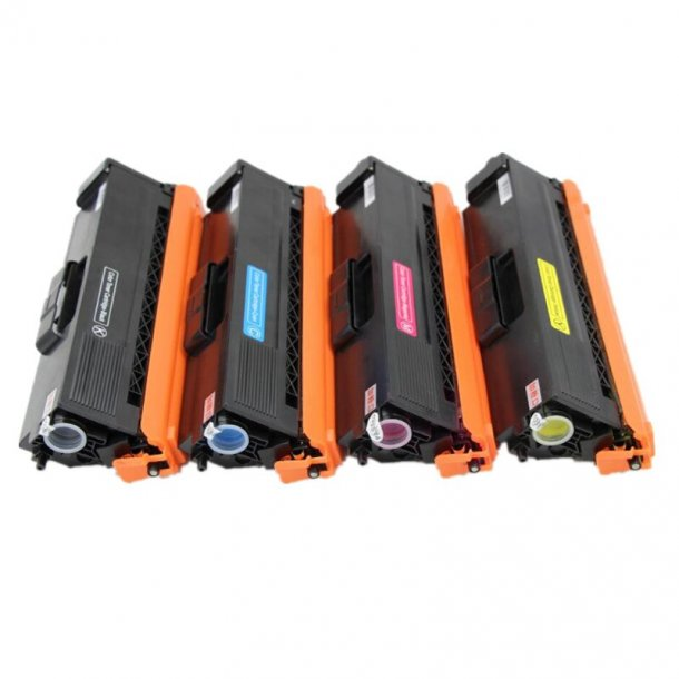 Brother TN390 combo pack 4 stk lasertoner BK/C/M/Y 7000 sider