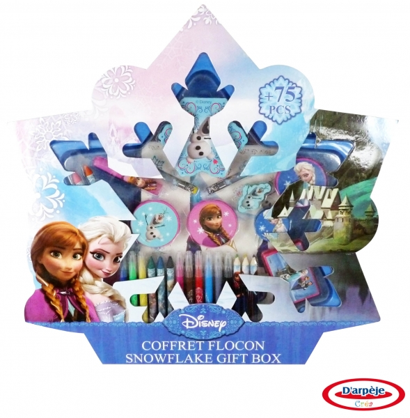 Image of   Disney Frost, kreativ sæt med 75 dele