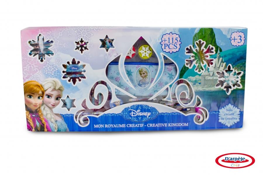 Image of   Disney Frost, kæmpe pakke med 115 dele