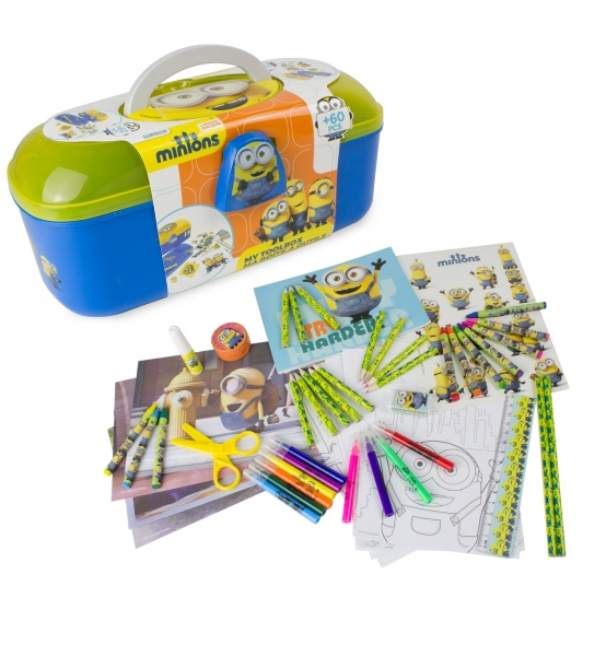 Image of   Minions tool box med 60 dele