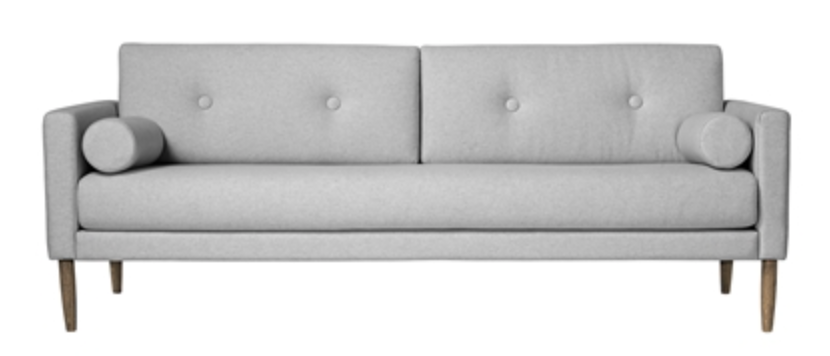 Image of   Bloomingville Calm sofa (Light grey)
