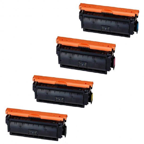 Canon CRG 040H combo pack 4 stk Lasertoner BK/C/M/Y 42500 sider